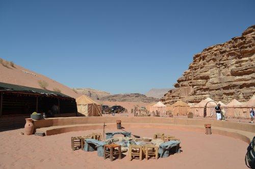 Tentenkamp Bedoeïenen Wadi Rum