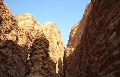 Kloof Wadi Rum