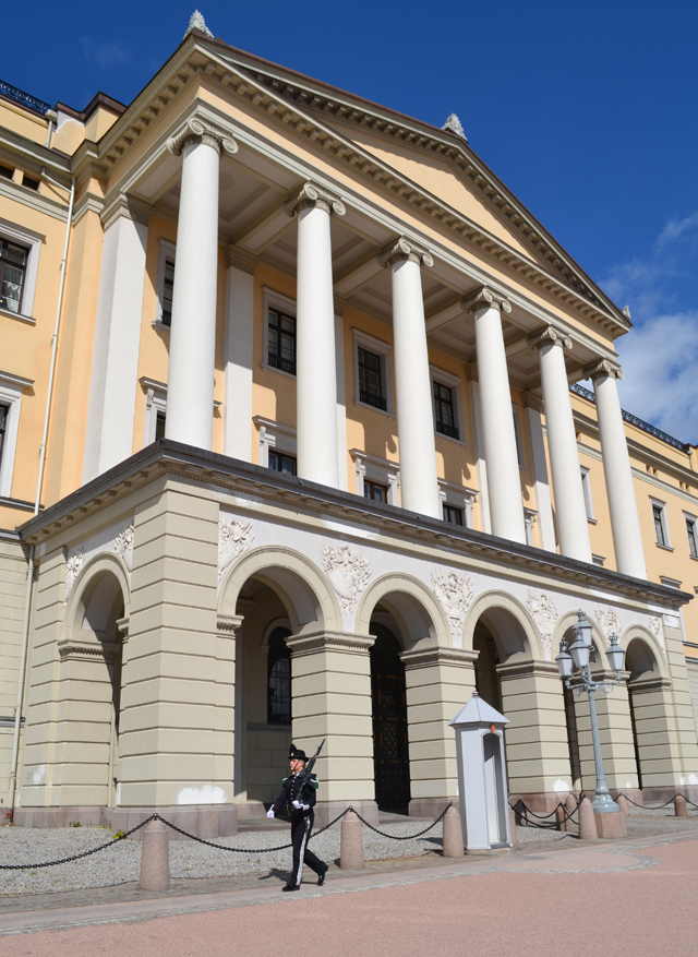 Oslo bezienswaardigheden: Koninklijk Paleis