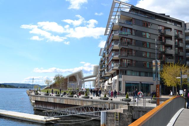 Oslo bezienswaardigheden: Aker Brygge