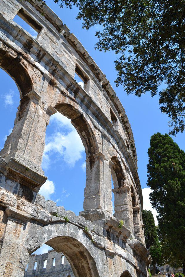 Bezienswaardigheden Istrië: Pula