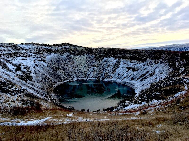Kerið IJsland