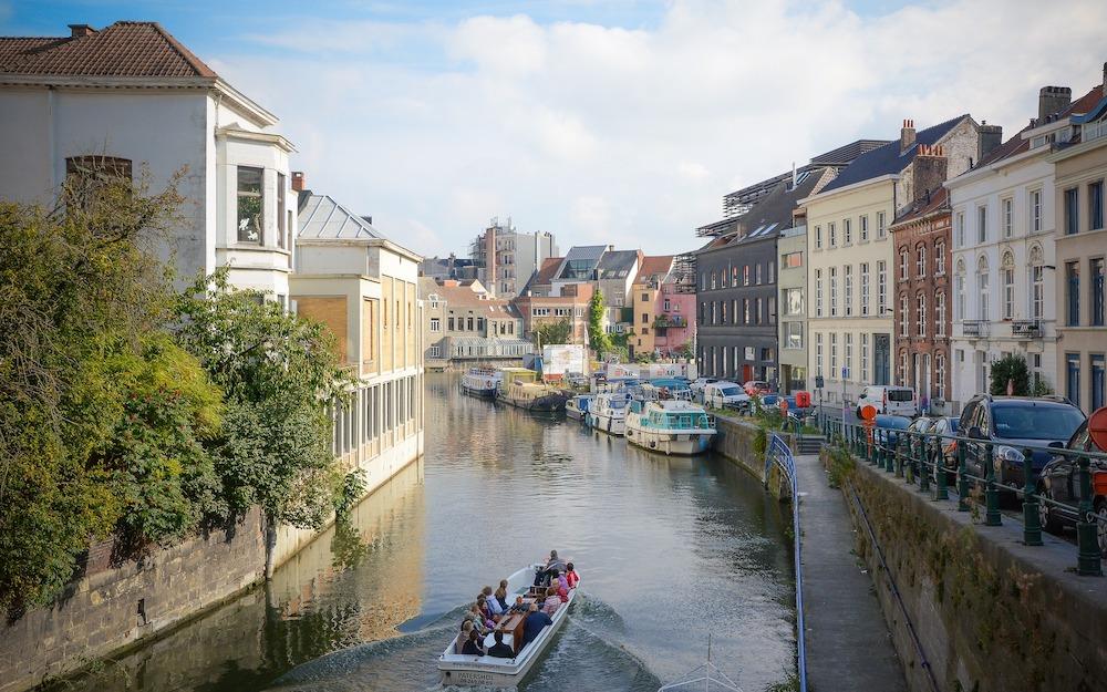 Stedentrip Gent: varen door de grachten
