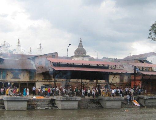 Lijkverbrandingen in Kathmandu