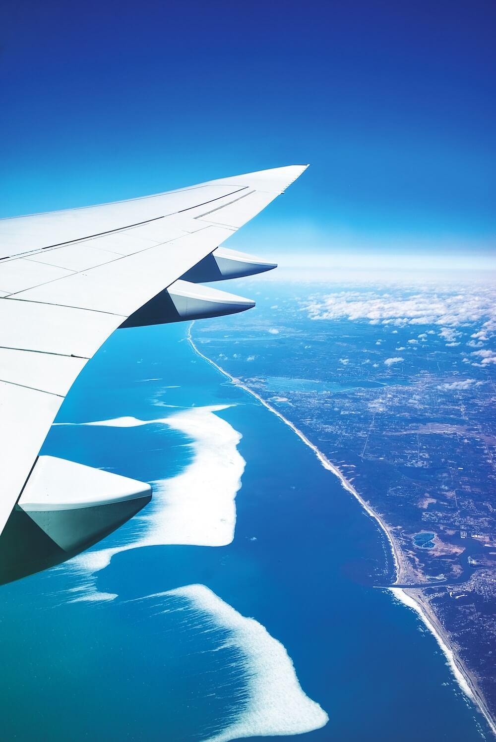 Vakantie of vliegticket verkopen