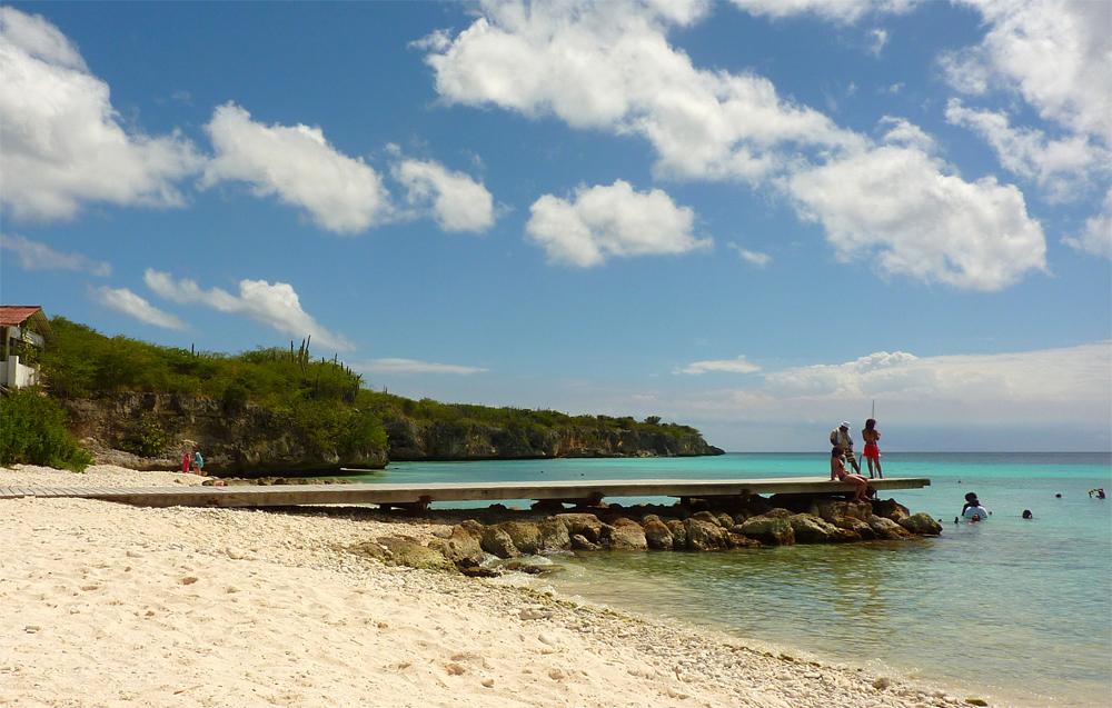 Leukste stranden Curaçao: Porto Marie