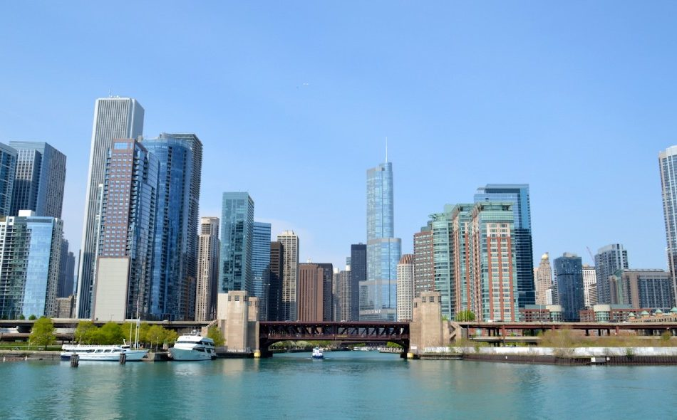 Bezienswaardigheden Chicago: skyline