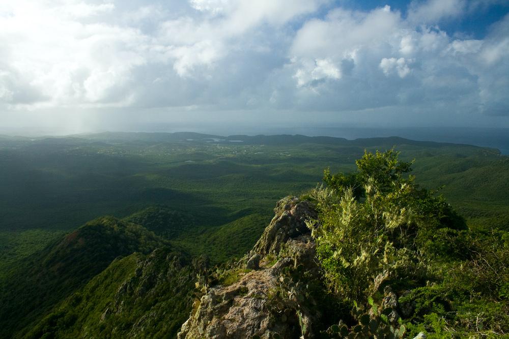 Bezienswaardigheden Curacao: Christoffelberg