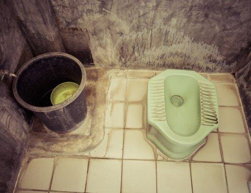 toiletteren op reis