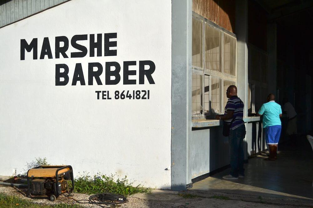 Roadtrip Curacao: Marshe Barber
