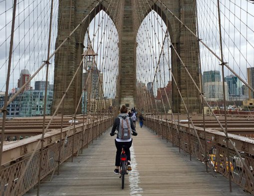 Fietsen in New York