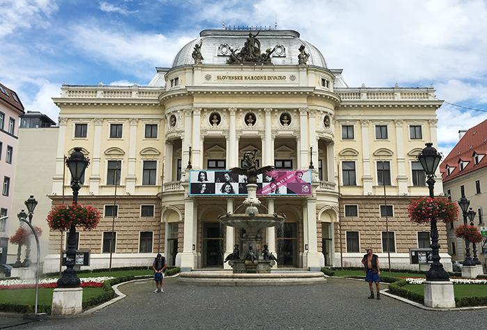 Slovakian National Theatre Bratislava