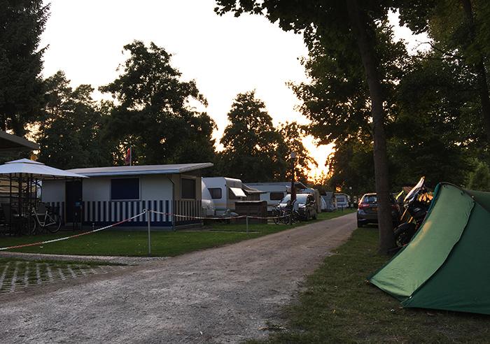 Eerste keer kamperen