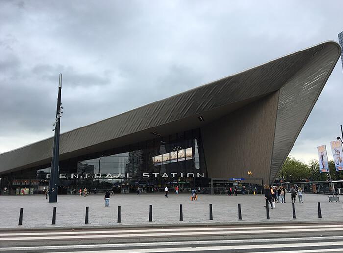 Bezienswaardigheden Rotterdam: Rotterdam Centraal Station