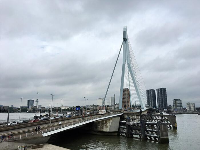 Bezienswaardigheden Rotterdam: Erasmusbrug