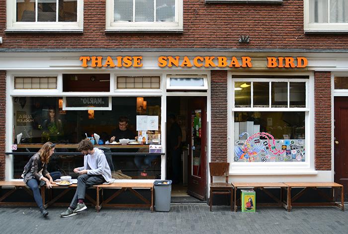 Thaise hotspot Amsterdam: Bird