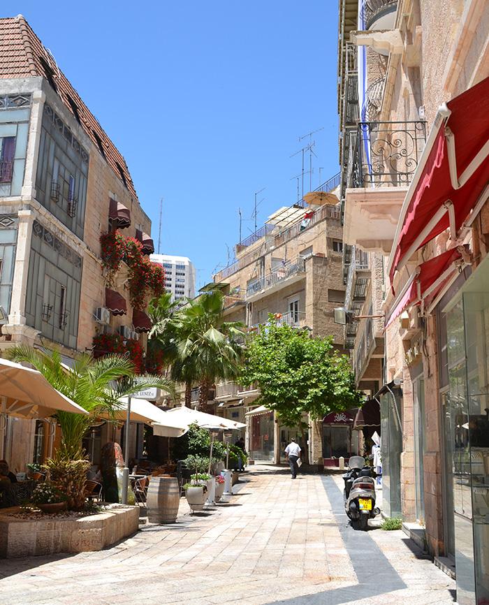 Jeruzalem bezienswaardigheden: Downtown Triangle