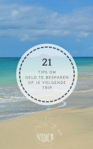 Gratis e-book '21 tips om geld te besparen op je volgende trip'