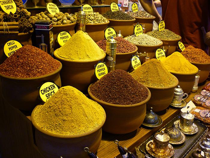 Bezienswaardigheden Istanbul: Egyptische Bazaar
