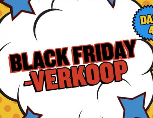 Black Friday vliegtickets
