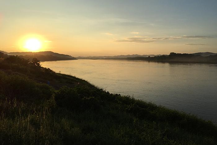 Loei Thailand: sunset tour Chiang Khan