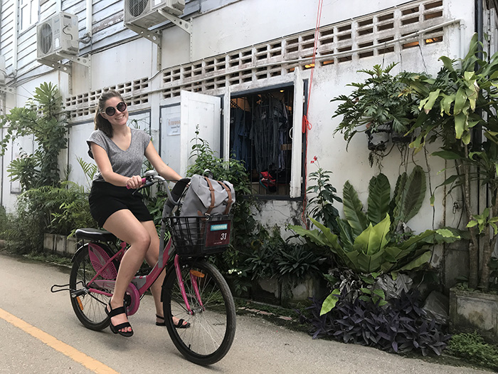 Loei Thailand: fietsen Chiang Khan