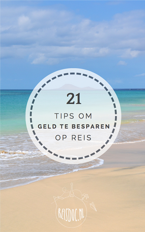 Gratis e-book '21 tips om geld te besparen op reis'