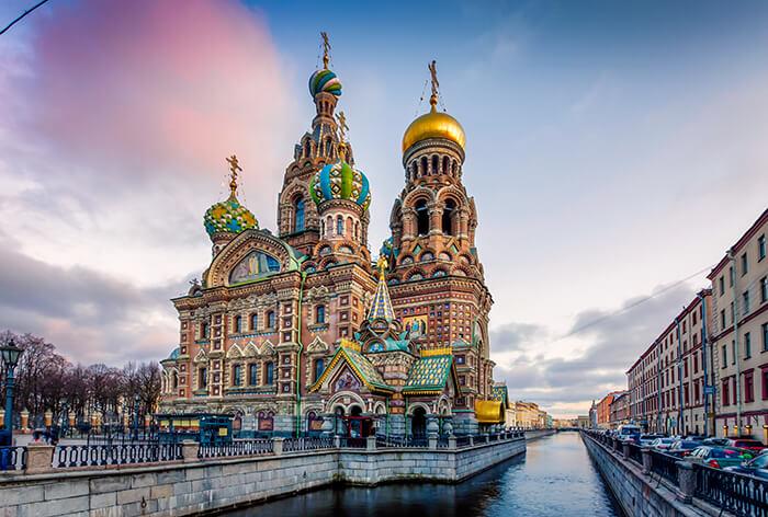 Sint-Petersburg bezienswaardigheden