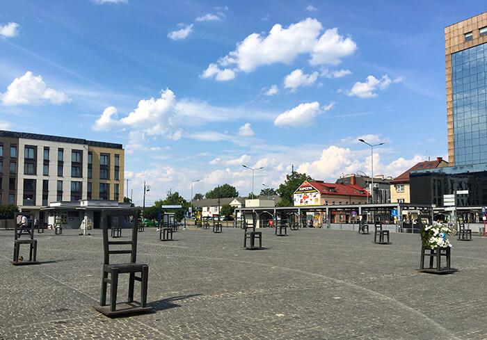Bezienswaardigheden Krakau: Heldenplein