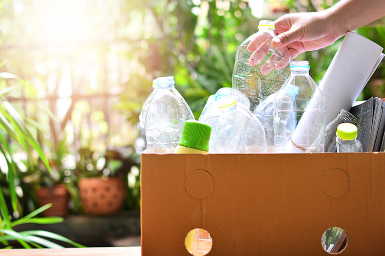 Plastic gebruik verminderen