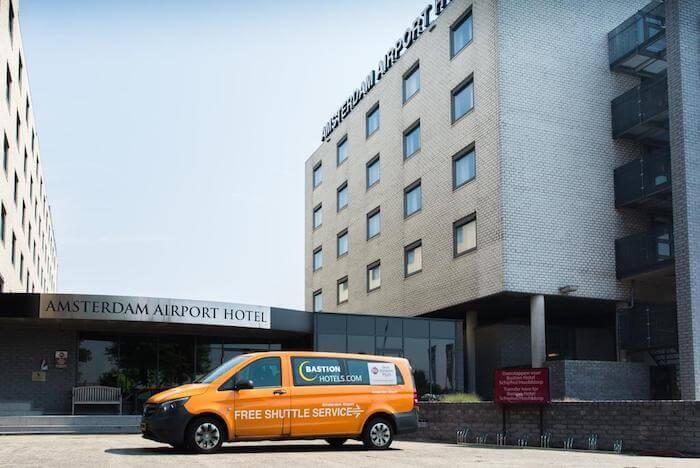 Goedkope hotels bij Schiphol
