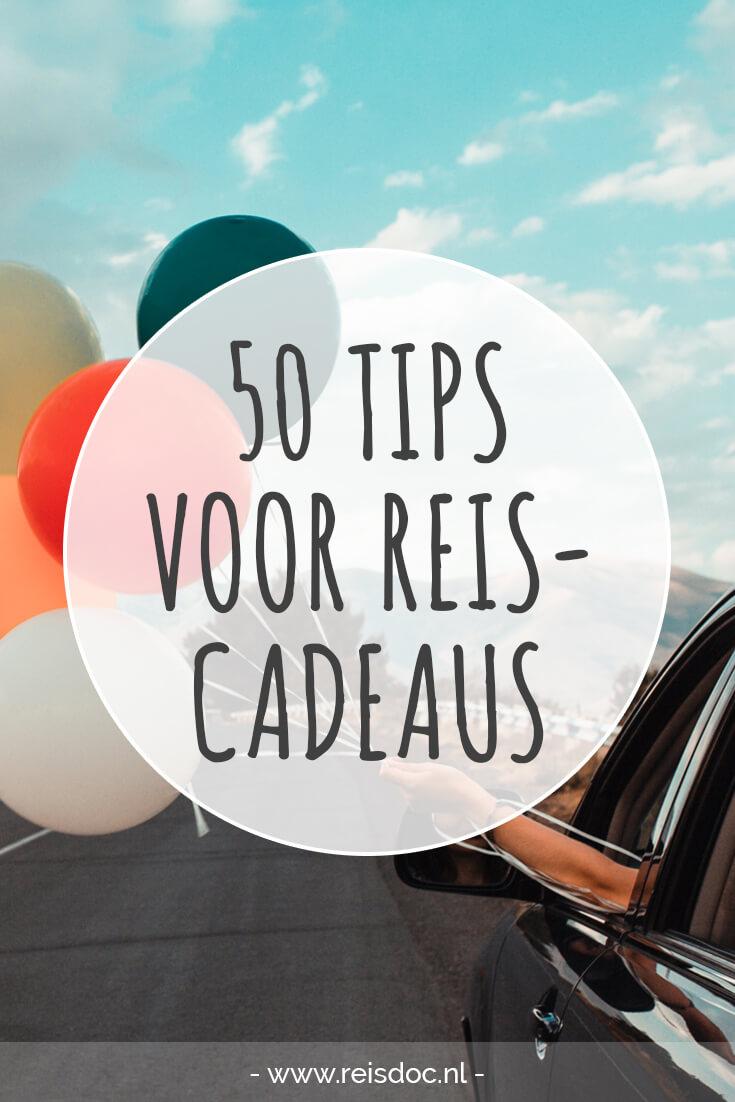 Beroemd Ideeën verlanglijstje: 50 reiscadeaus onder de 50 euro | Reisdoc.nl @YF53