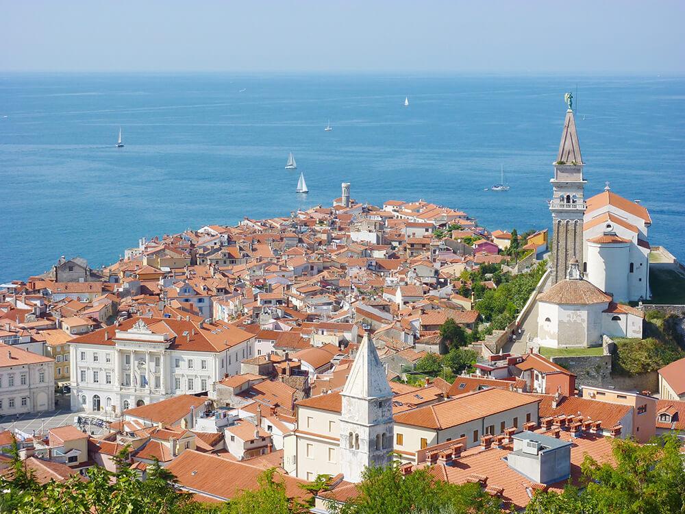 Bezienswaardigheden Slovenië: Piran