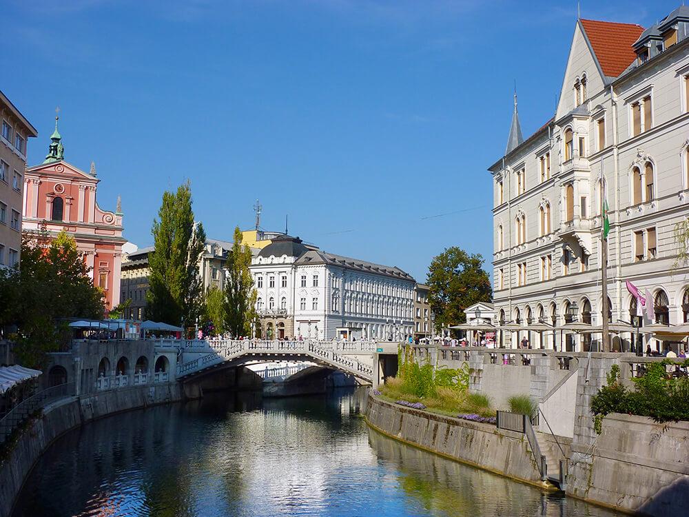 Bezienswaardigheden Slovenië: Ljubljana