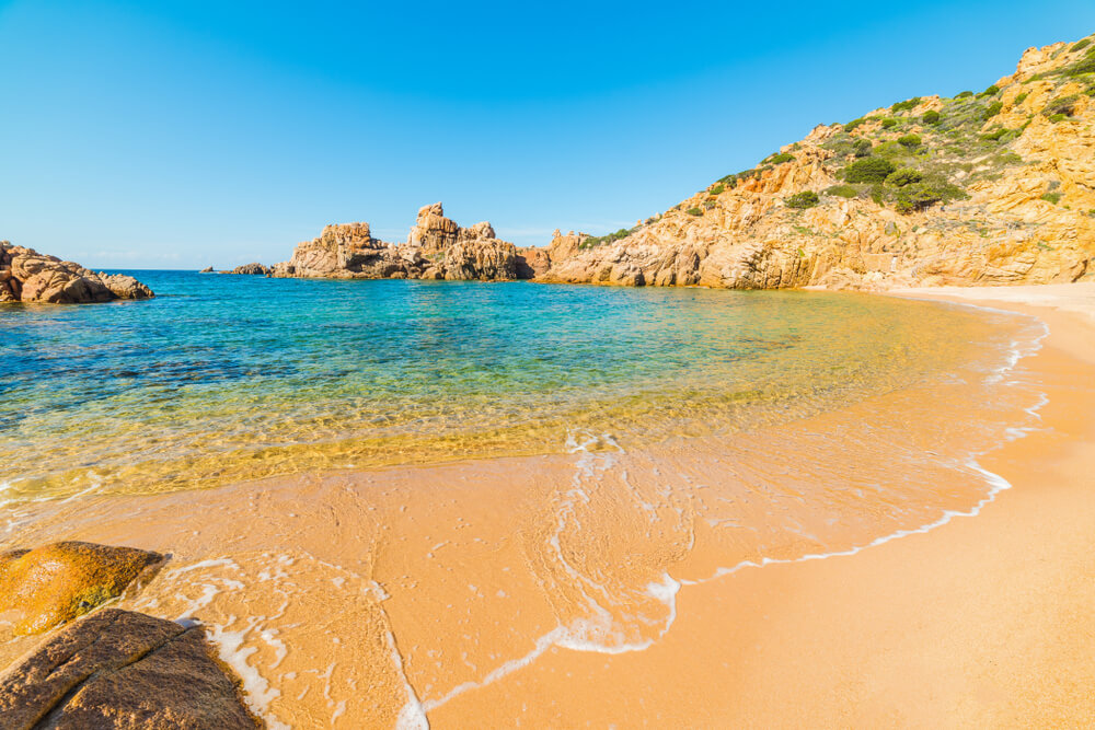 Stranden Sardinië: Spiaggia di Li Cossi