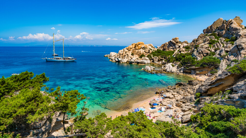 Stranden Sardinië: Cala Spinosa
