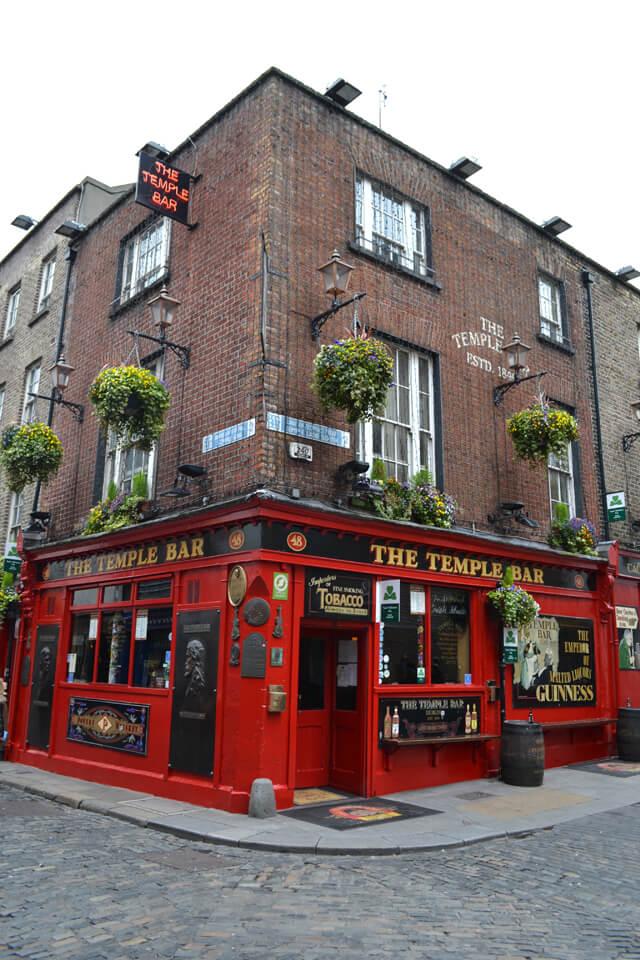 Dublin bezienswaardigheden: Temple Bar