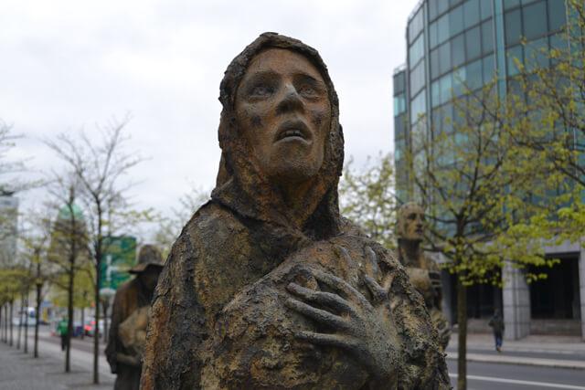 Famine Memorial Dublin