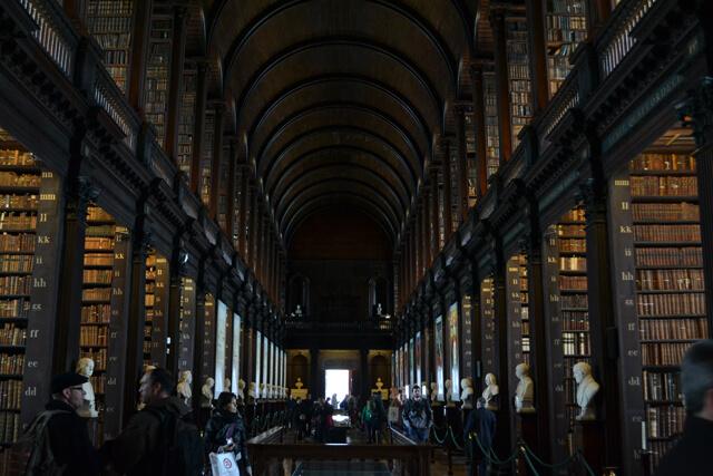 Dublin bezienswaardigheden: Trinity College