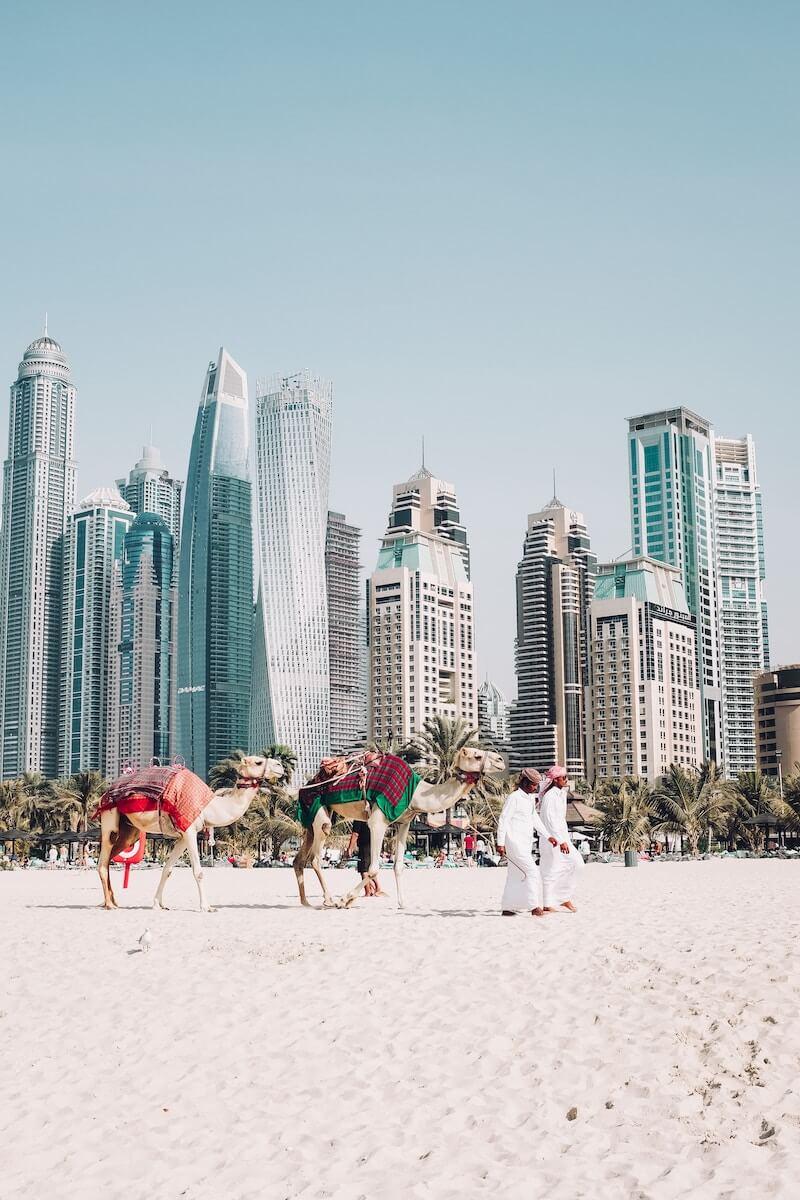 In de winter naar de zon: Dubai