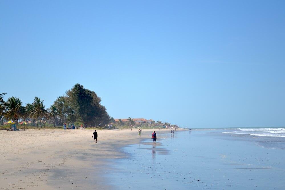 In de winter naar de zon: Gambia