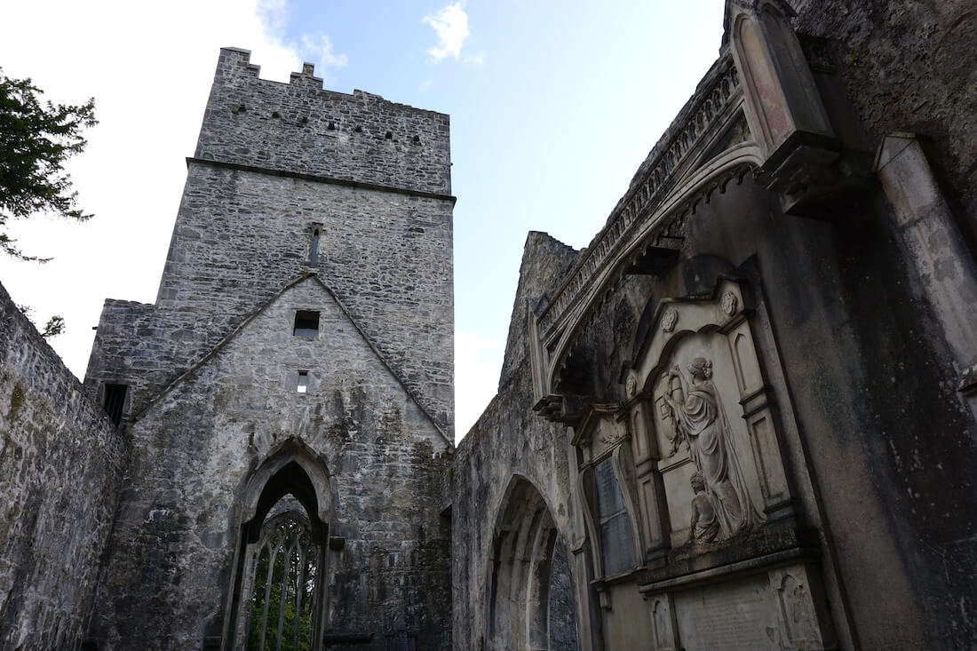 Muckross Abbey - Killarney National Park