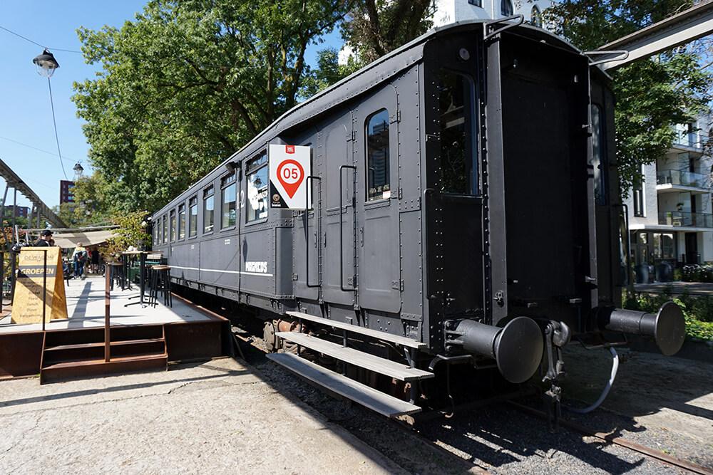 Spoorzone Tilburg: De Eetwagon