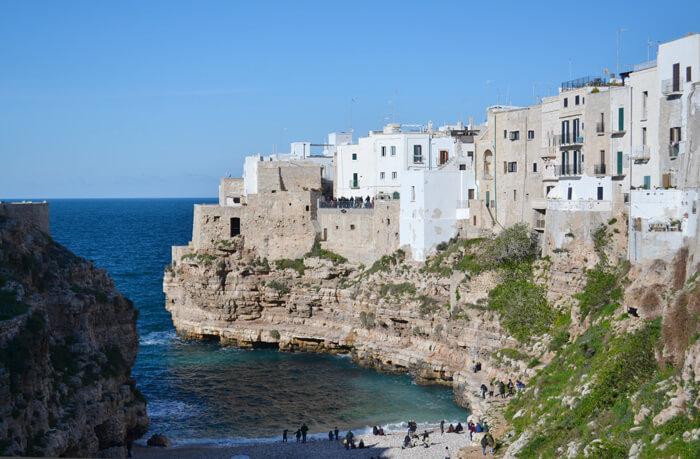 Bezienswaardigheden Puglia: Polignano a Mare