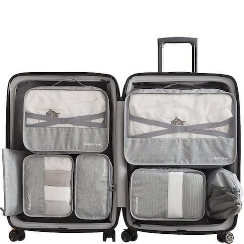 Meenemen op vakantie: packing cubes