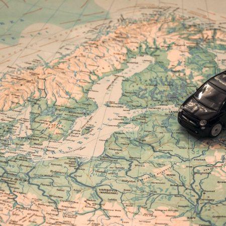 Met de auto naar Zweden