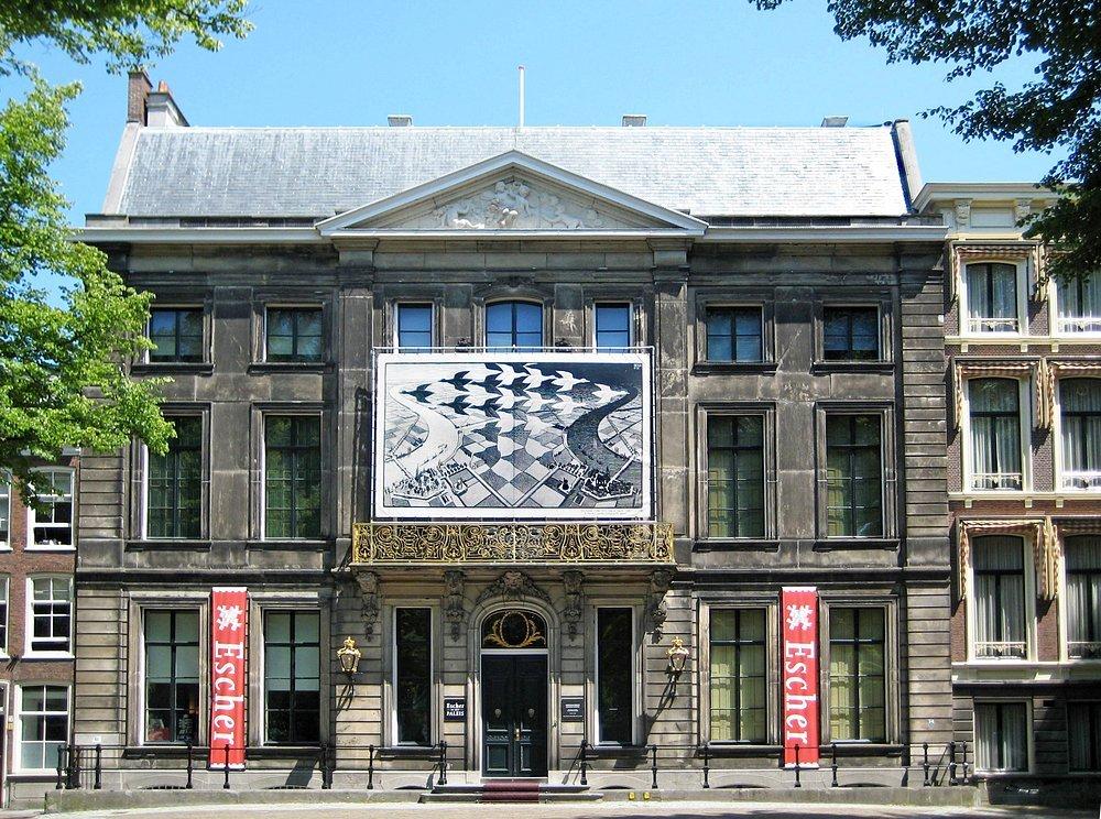 Bezienswaardigheden Den Haag: Escher in het Paleis