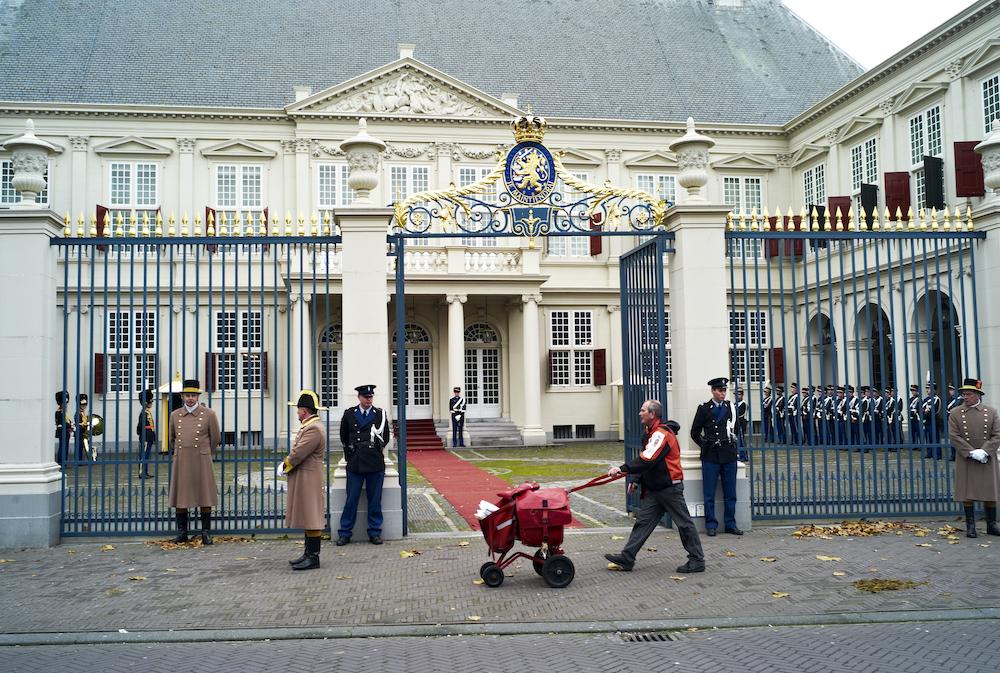 Bezienswaardigheden Den Haag: Paleis Noordeinde
