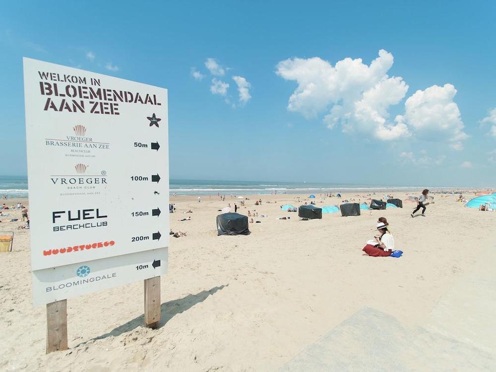 Leukste stranden Nederland: Bloemendaal aan Zee