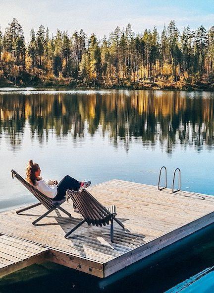 Zweeds Lapland herfst